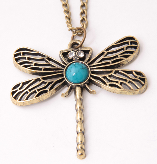 Necklaces with Dragonfly or other animals