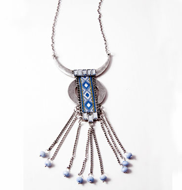 Necklace Tassle Tangle