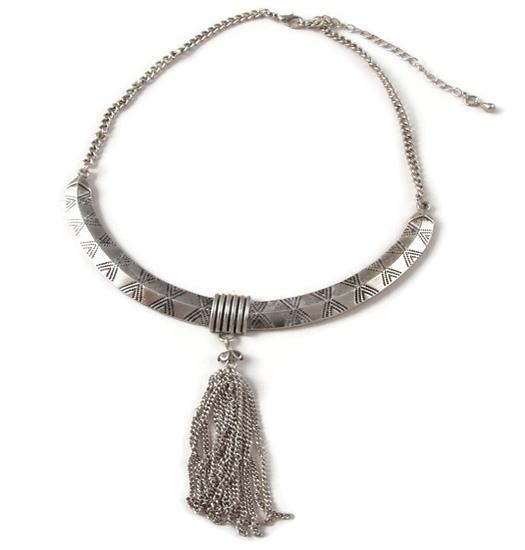 Necklace Tribal Tassle