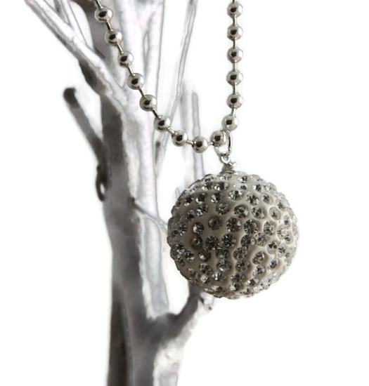 Ketting Shamball glitter ball