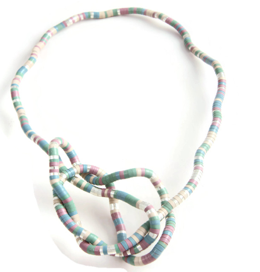 Necklace Coloured Snake medium