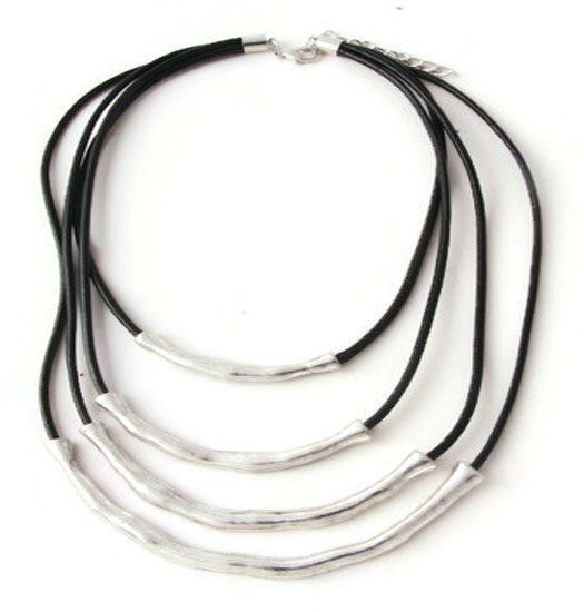 Ketting Layered Leather