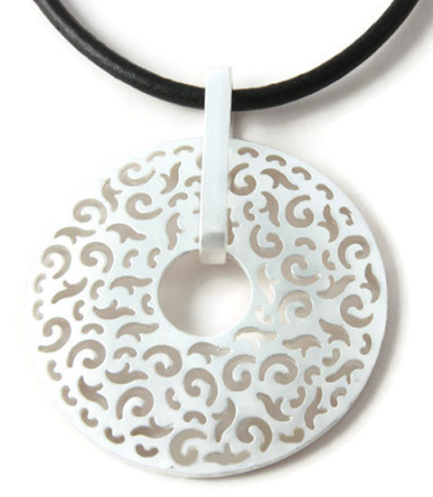 Ketting Necklace Wheel of Fortune - short