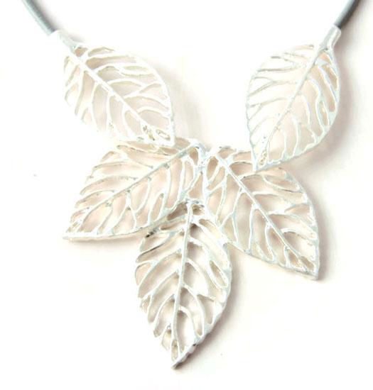 Ketting Leaf Silhoute