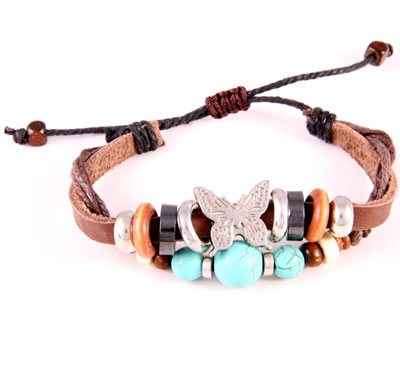 Bracelet Memory ropes butterfly