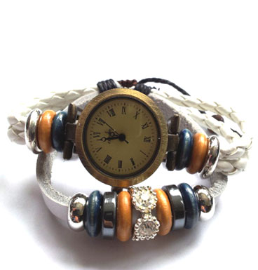 Pull rope watch Strass studs