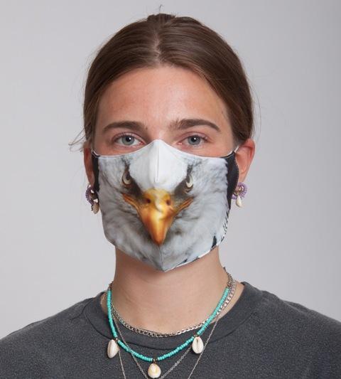 Mondkapje Eagle