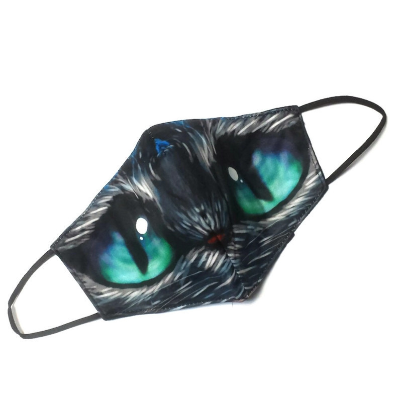 Mondkapje Sad Cat