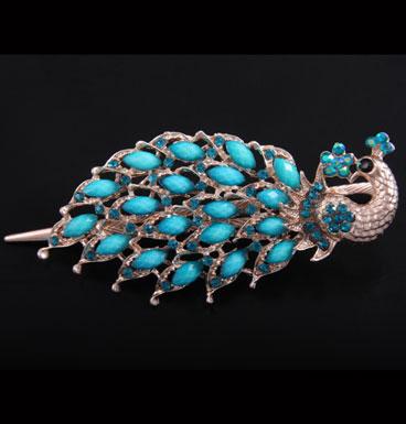 haarclip Peacock Queen