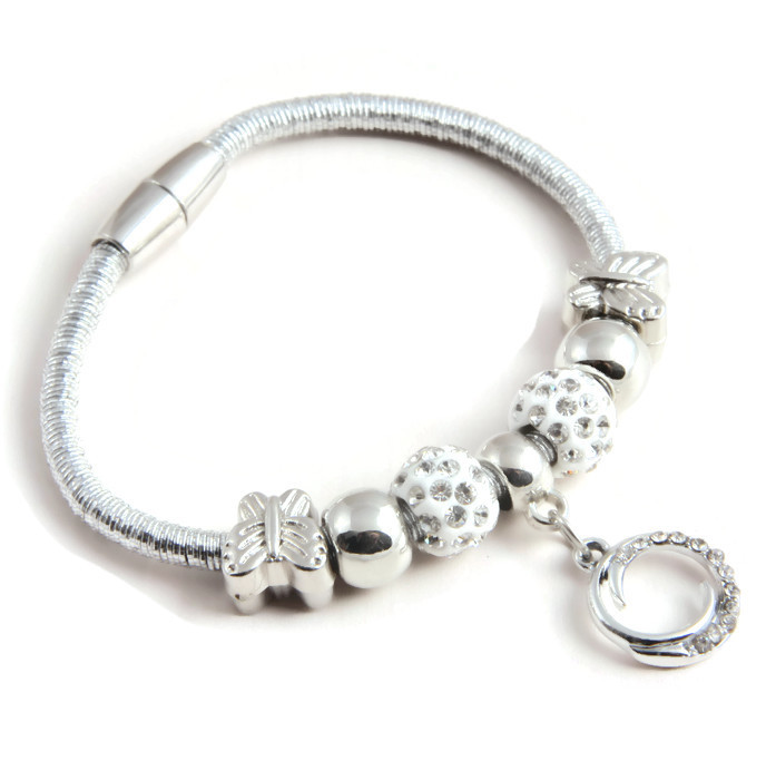 Bracelet Charms and eternal circle
