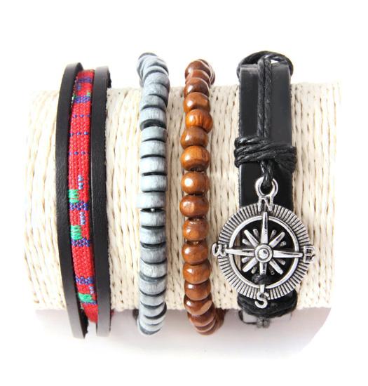 Set Braide, beads, rope