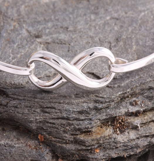 Fine Silver Bracelet Eternity