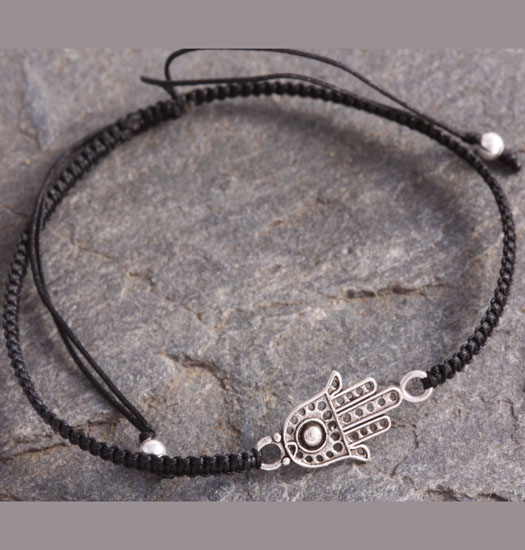 Silver & Pull Rope Bracelets