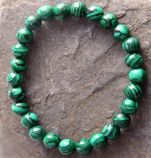 Luck stones Malachite