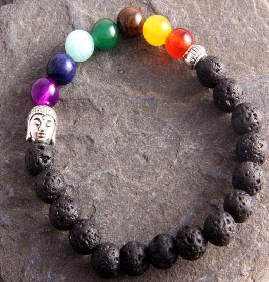 Bracelet Chakra buddha