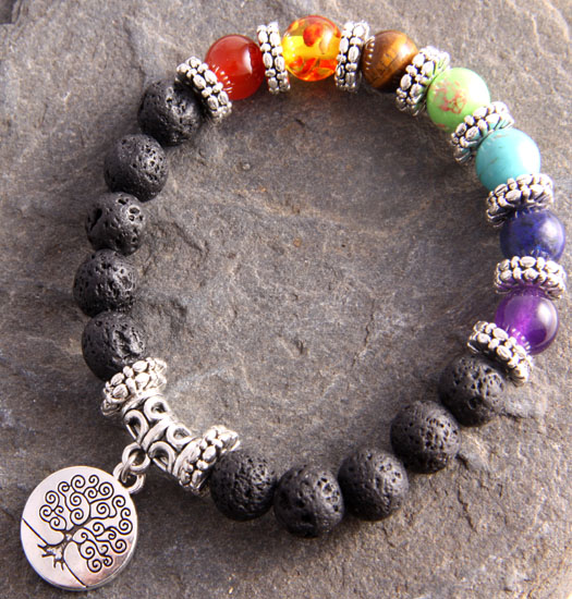 Chakra Tree of Life dangling