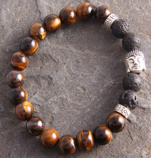 Karma Tiger Eye and buddha