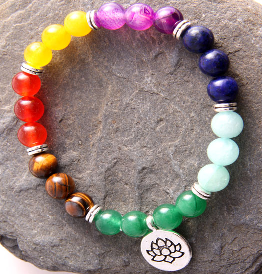 Armband Chakra Lotus