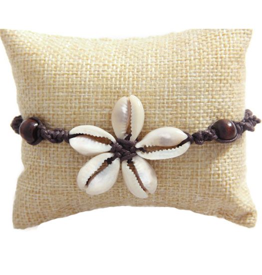Bracelet Kauri flower