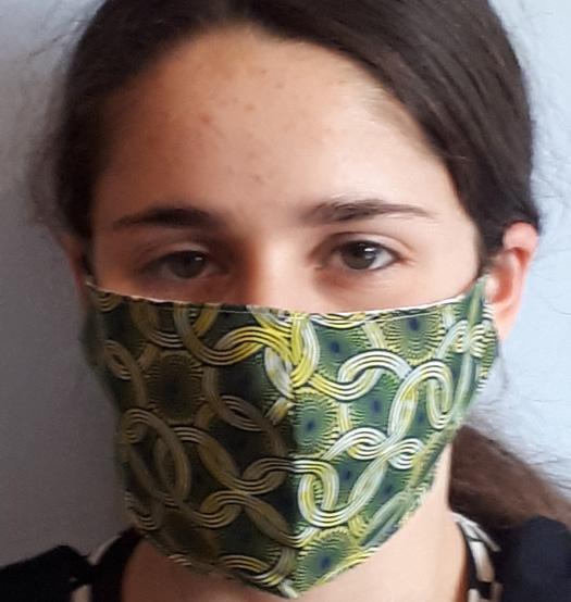 Mask Circles green