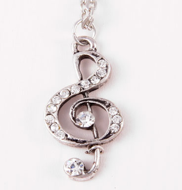 Necklace Musical Note