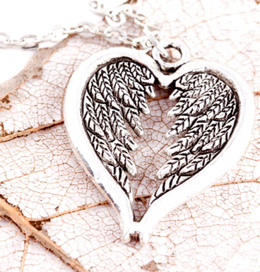 Necklace Wing-Heart