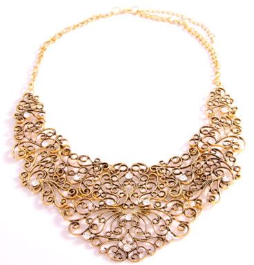 Necklace Barok Lace