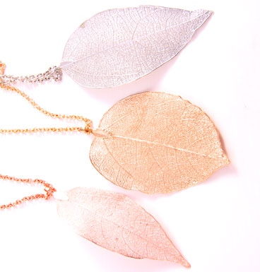 Ketting Natural Leaf - Loop chain