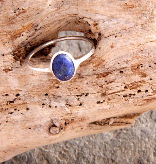 Zilveren Ring Lapis Lazulli