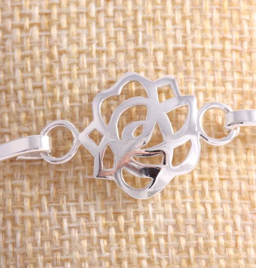 Fine Silver Bracelet Lotus