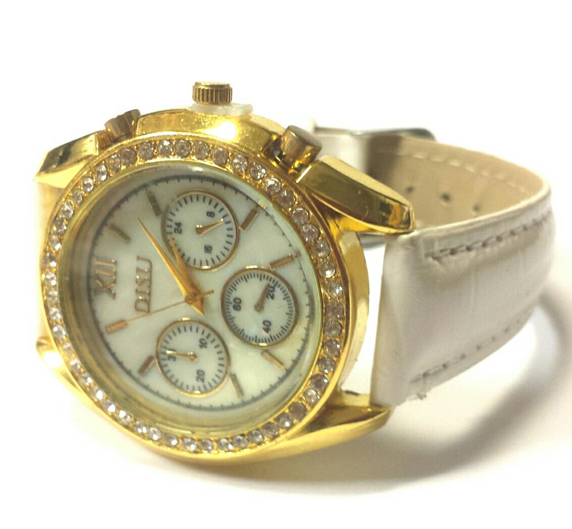 Jewelled wrist watch